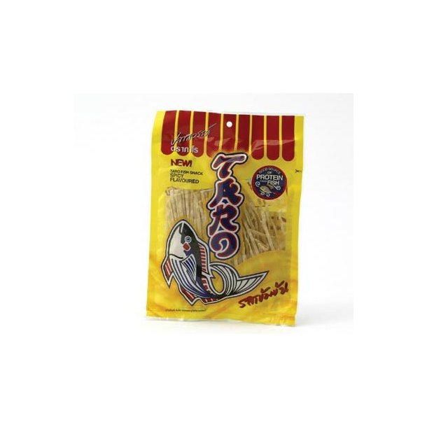 Fish Snack Spicy (Taro) - 52gr.