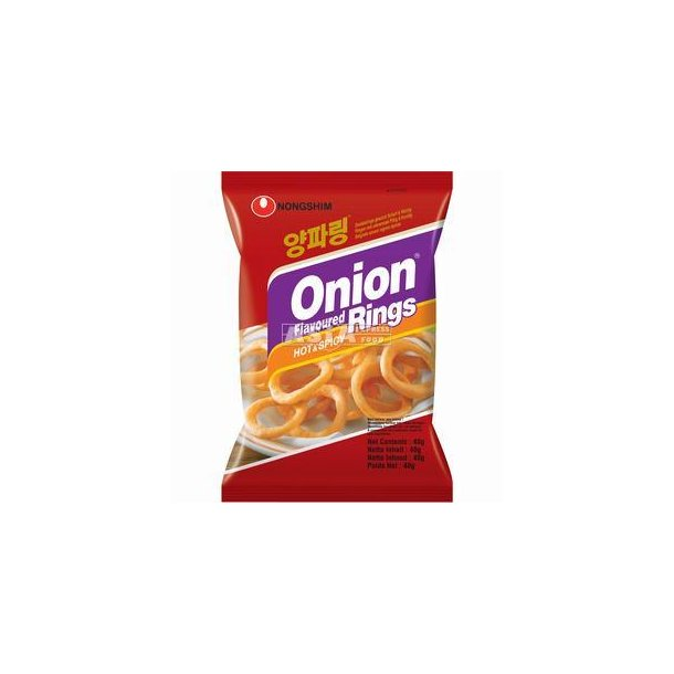 Onion Rings - Hot & Spicy (Nongshim) - 40gr.