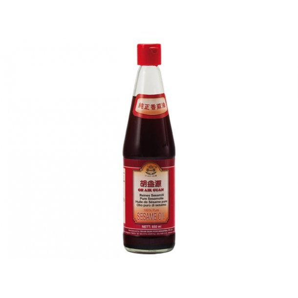 Sesame Oil 100% pure (Oh Aik Guan) 360ml.