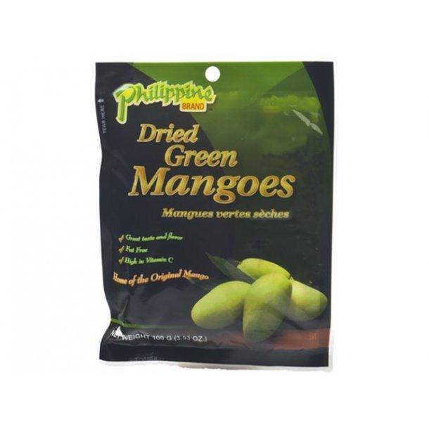 Dried Green Mango Slices (Philippine Brand) - 100gr.