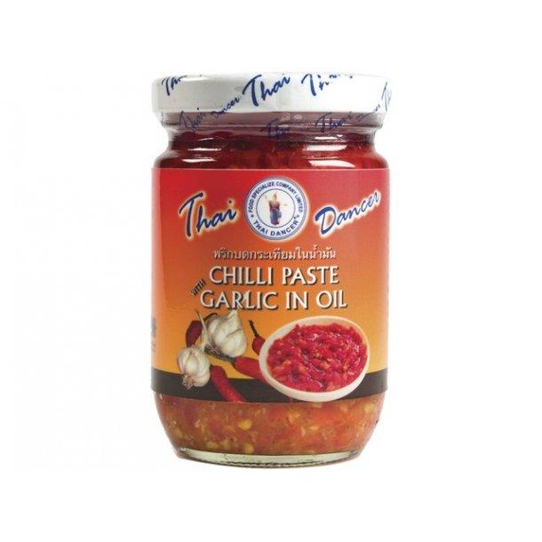 Chilipaste w/garlic in Oil (T.D) - 227gr.