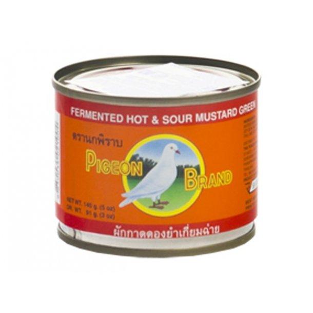 Pickled Mustard - Sweet & Sour (Pigeon) - 140gr.