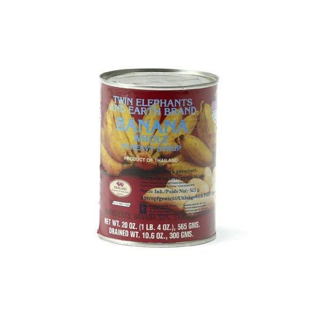Whole Banana in Heavy Sirup (T.E.) - 565gr.