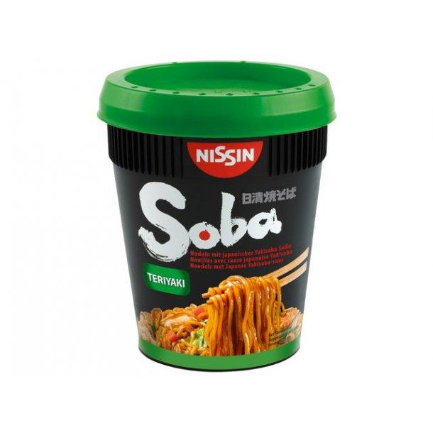 Soba Cup Noodles, Teriyaki (Nissin) 90gr.