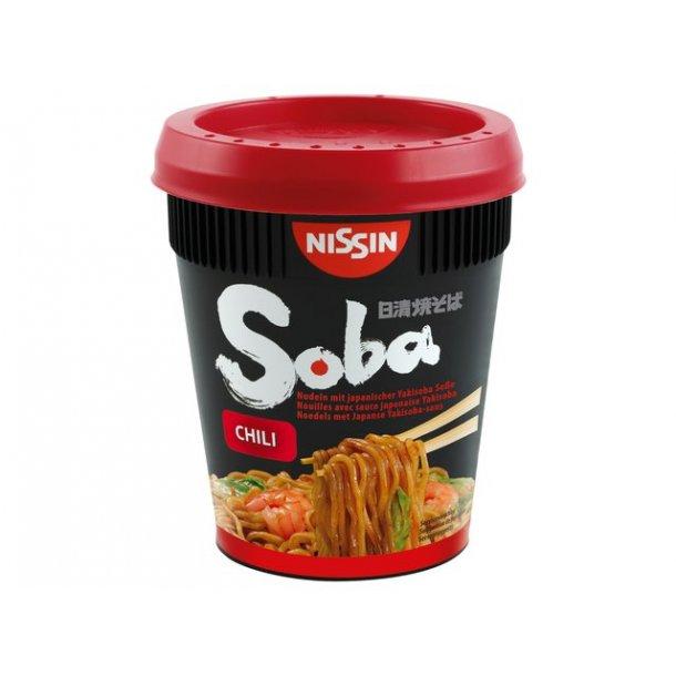 Soba Cup Noodles, Chili (Nissin) 92gr.