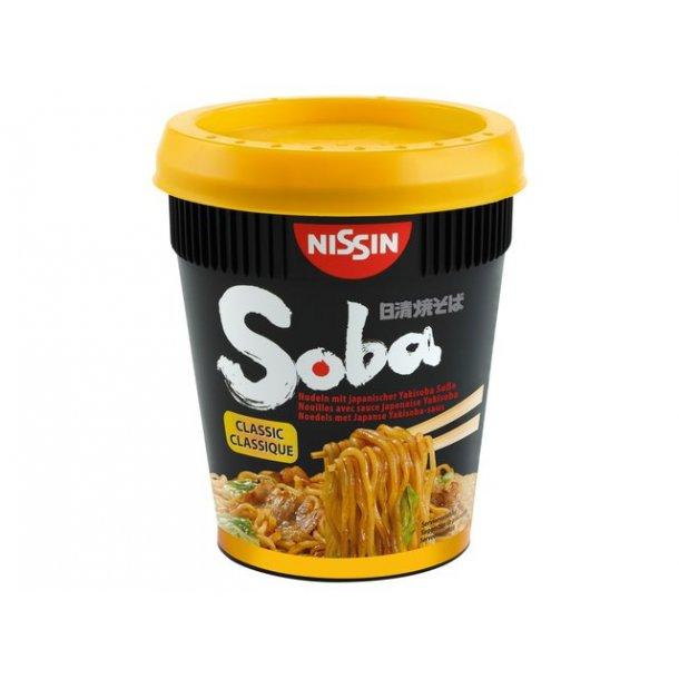 Soba Cup Noodles, Classic (Nissin) 90gr.