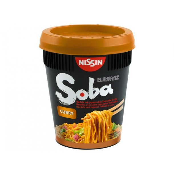 Soba Cup Noodles, Curry (Nissin) 88gr.