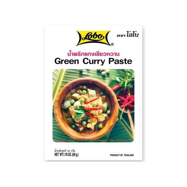 Green Curry Paste (Lobo) - 50gr.