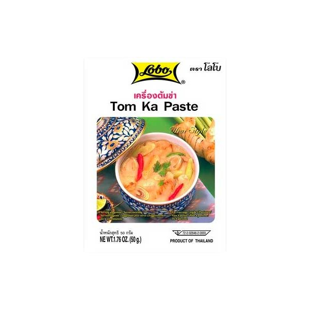 Tom Ka Paste (Lobo) - 50gr.