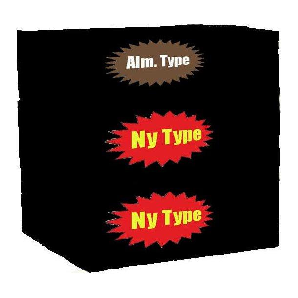 3 ks. Yum Yum (Bland-selv 1 alm. + 2 ny type)