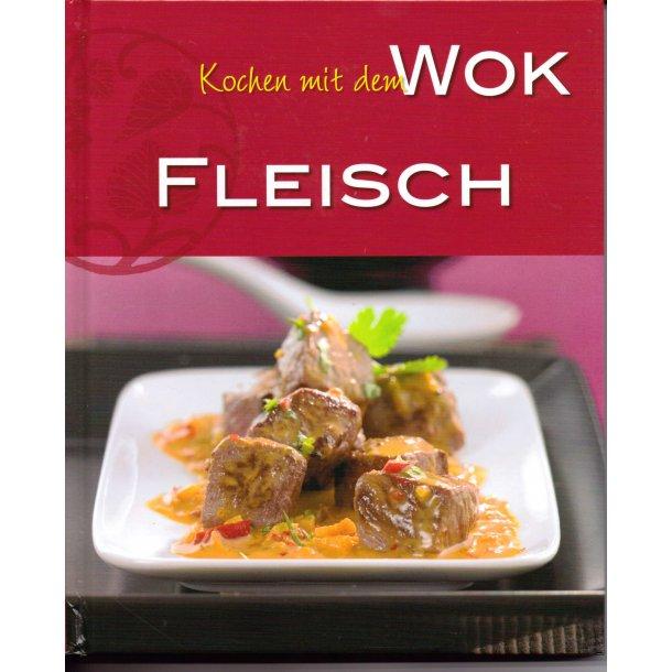 Kød i Wokken (kogebog på Tysk)