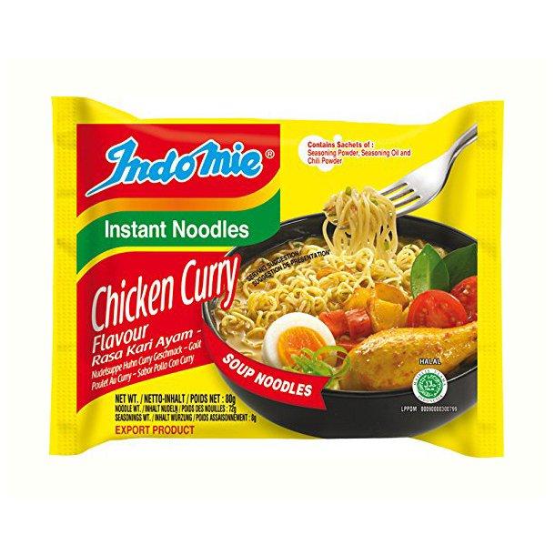Indomie - Chicken & Curry 1 ks. 40x80gr.