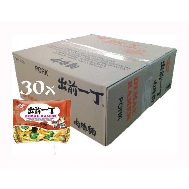 Ramen Pork (Nissin) 30 x 100gr.