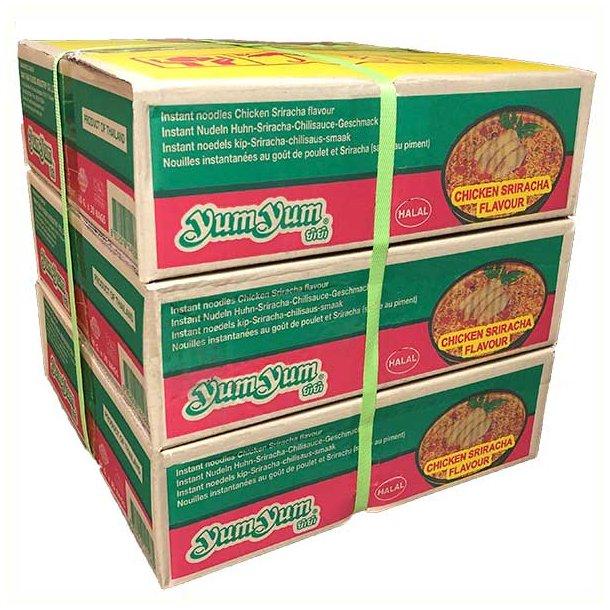 3 ks. Yum Yum Chicken Sriracha (Kylling/Sriracha)