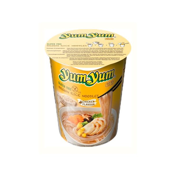 Yum Yum - Chicken Cup Rice Noodles - 63gr.