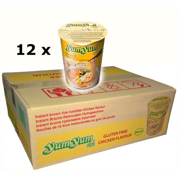 Yum Yum - Chicken CupBox - 12 x 63gr.
