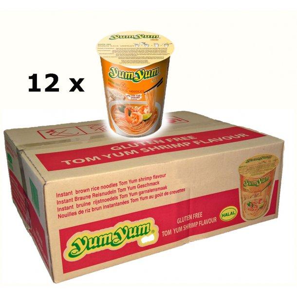 Yum Yum - Tom Yum Shrimp CupBox - 12 x 66gr.
