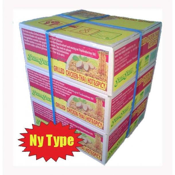 3 ks. Yum Yum Grilled Chicken-Thai Hot & Spicy (NY TYPE)