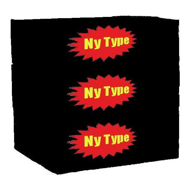 3 ks. Yum Yum (Bland-selv 3 nye typer)
