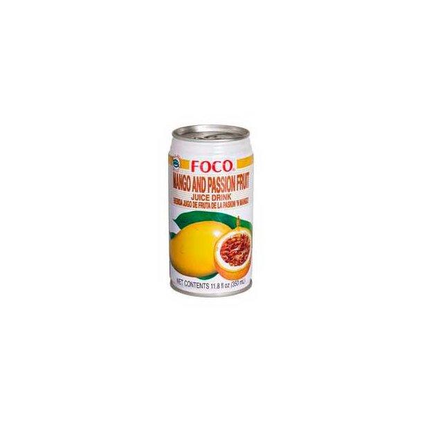 Mango & Passion Fruit Drink (Foco) - 350ml.