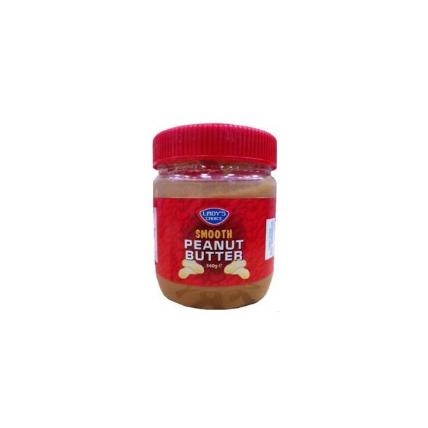 Peanut Butter - Smooth (Lady's Choice) - 340gr.