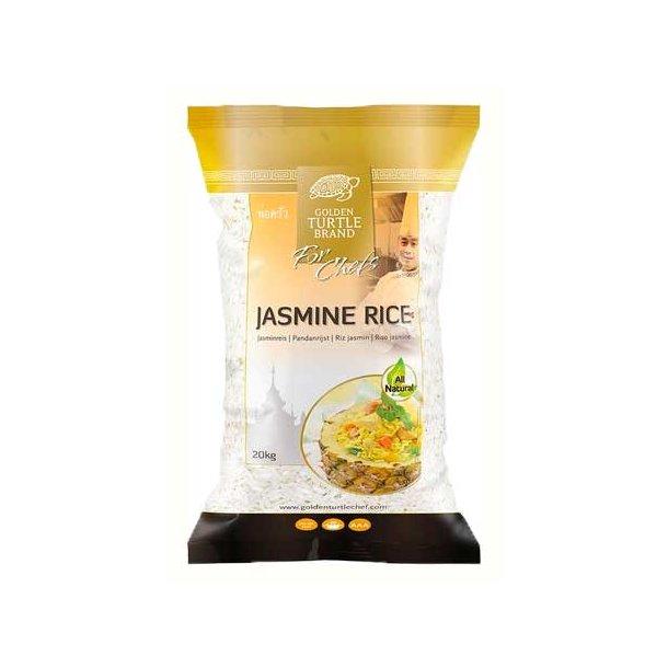 Jasmine Rice (Golden Turtle Chef) - 20kg.
