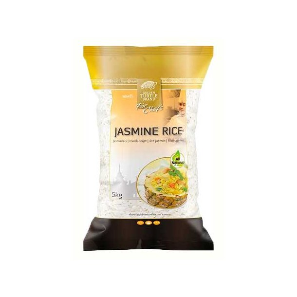 Jasmine Rice (Golden Turtle Chef) - 5kg.