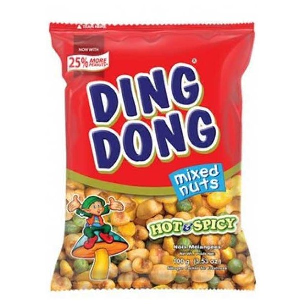 Ding Dong - Hot & Spicy (JBC) - 100gr.