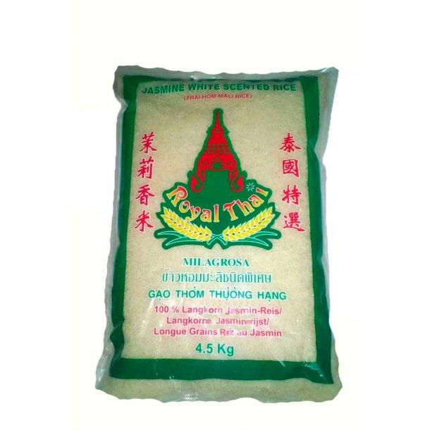 Jasmin Langcorn Rice (Royal Thai) - 4,5 kg.