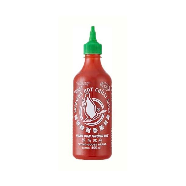 Chili Sauce Hot 61% (Flying Goose) - 455ml.