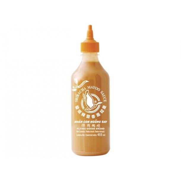 Sriracha Mayo Sauce 20% (Flying Goose) - 455ml.