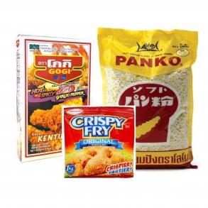 Panko-rasp & Tempura-mel