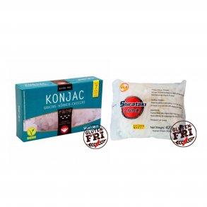 0-kalorie nudler / Konjac Noodles