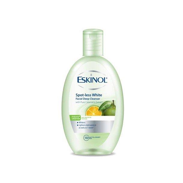 Facial Cleaner (Eskinol) Spot-Less White w/Calamansi - 225ml.