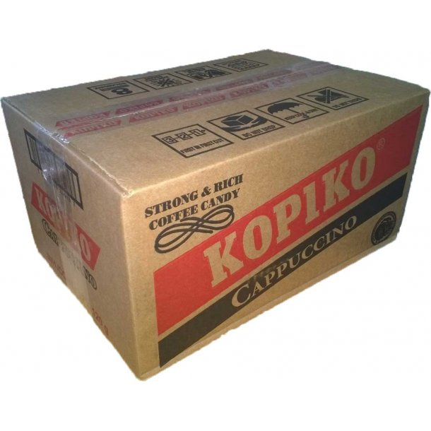 1 box 12 x Cappucino Coffee Candy (Kopiko) - 120gr.