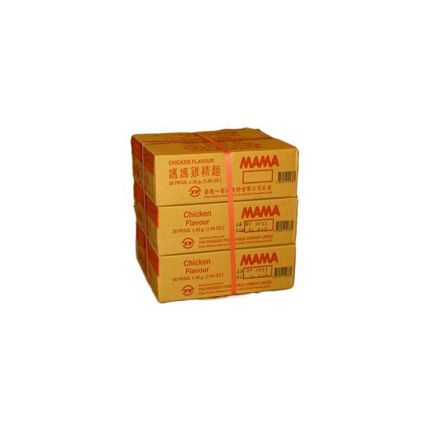 3 ks. Chicken Flavour (MAMA) - 55gr.