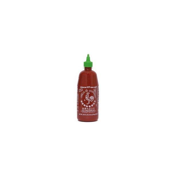 Chili sauce - Hot 83% (Huy Fong Foods) - 740ml.