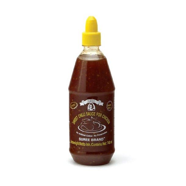 Chili Sauce 23% (SUREE) - 740ml.