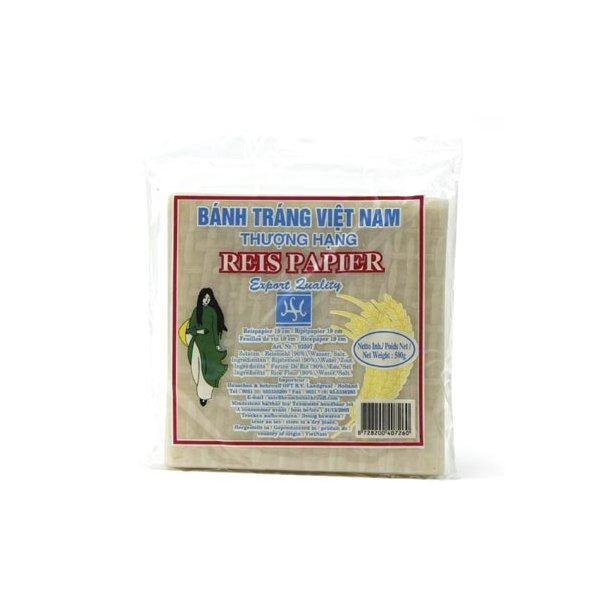 Rice Paper 19 x19 (Vietnam) - 500gr.