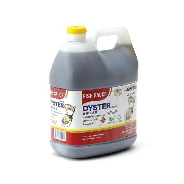 Fish Sauce (Oyster Brand) - 4 x 4,5L.