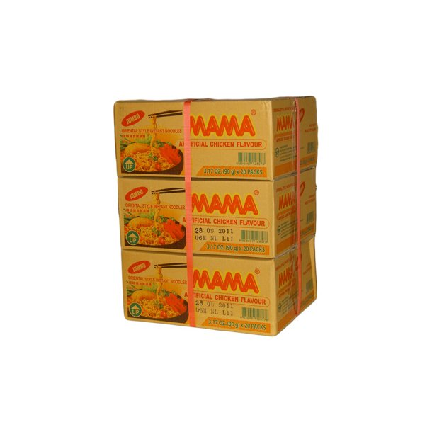 3 ks. Chicken (MAMA) - Jumbo 90gr.