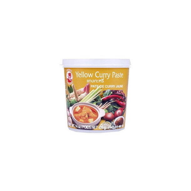 Curry Paste - Yellow 20% (Cock) - 400gr.