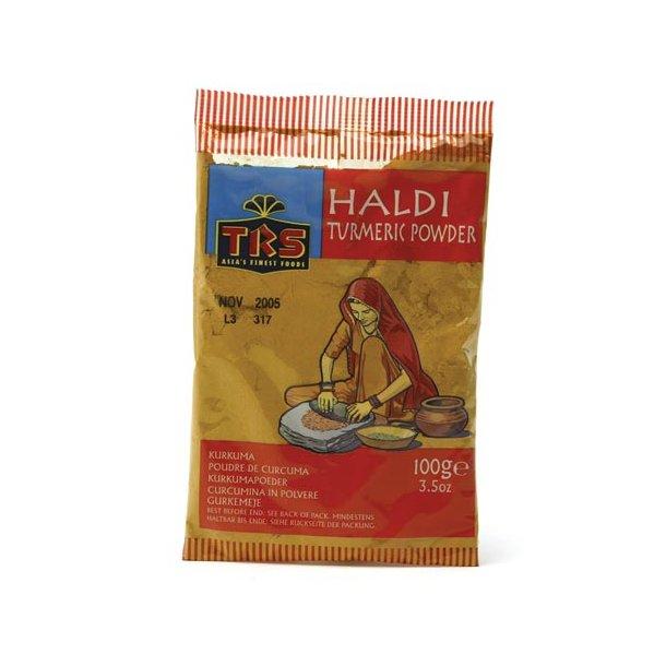 Haldi - Gurkemeje - (Indisk Safran) (TRS) - 100gr.