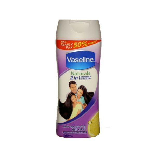 2in1 shampoo & Conditioner (Vaseline) - 300ml.