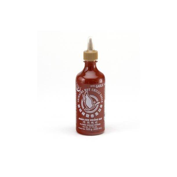 Chili Sauce & Xtra Garlic 51% (Flying Goose) 455ml