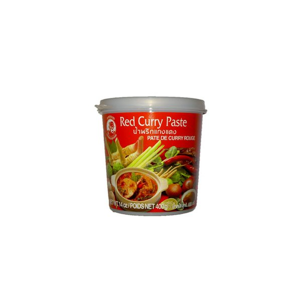 Curry Paste - Red 35% (Cock) - 400gr.