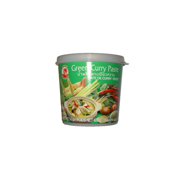 Curry Paste - Green 35% (Cock) - 400gr.